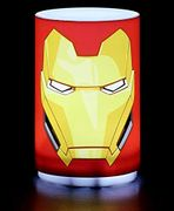 Marvel Mini Iron Man Light with Sound, Multi-Colour