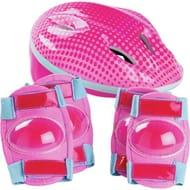 Bike Helmet and Pad Set - Kids Clearance