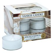 Yankee Candle Tea Light Candles, Angel's Wings, Pack of 12