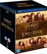 Middle Earth Collection Blu-Ray 6 Film Theatrical Versions
