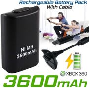 Rechargeable Battery Pack Cable for XBOX 360