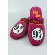 Harry Potter Hogwarts Express 9 3/4 Mens Mule Slippers Size 8-10