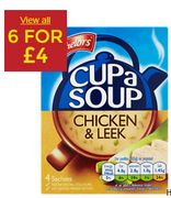 Batchelors Cup a Soup 6 for £4