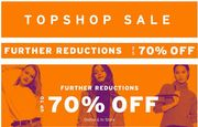 Topshop / Further Reductions / 70% Off