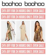 Boohoo - Extra 24% off - including Sale Today!