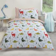 Dino World Duvet Set, Single (Also in Double)