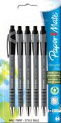 PaperMate Flexgrip Ultra Ball Pen with Medium Tip 1.0 Mm - Black, Pack of 5