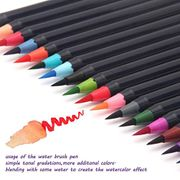 Acecoree Soft Tip Painting Brush Refillable Watercolor Markers