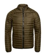 Mens Superdry Unique Sample Core down Jacket Size Medium Khaki