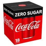 Coca-Cola Zero Sugar 18x330ml