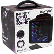 Intempo LED Infinity Light Mini Tunnel Bluetooth Speaker