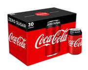 30x Cans of Coca Cola - Instore - Save £3