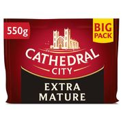 Cathedral City Cheddar 550g 2 Packs for £5