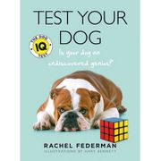 'Test Your Dog - IQ Test' Book