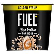 Fuel 10K Golden Syrup or Chocolate Porridge Pot 70G - HALF PRICE