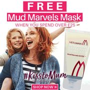 Free Mud Marvels Mask worth £19.50 with £25+ Spend