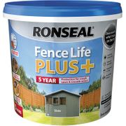 Ronseal Fence Life plus 5L Slate at Toolstation - 33% Off