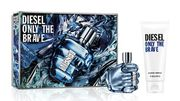 Diesel Only the Brave Eau De Toilette 50ml Christmas Gift Set for Him Only £18