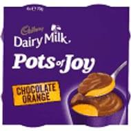 Cadbury Dairy Milk Pots of Joy Chocolate Orange £1 at Asda