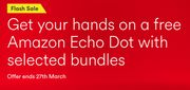 Grab a Free Amazon Echo Dot (Or Bill Credit) with Bundle at Virgin Media!