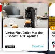 Vertuo Plus, Coffee Machine Discount - 400 Capsules