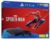 Sony 500GB Black PS4 with Marvel's Spiderman Only £249.87