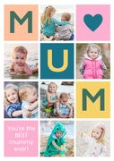 Personalised Mother's Day Greeting Cards for Only £1.00