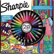 Sharpie Fine Permanent Marker - Limited Edition Assorted Colours Pack of 28