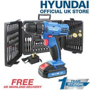 Cordless Power Drill Electric Screwdriver 18V DUAL SPEED LED LIGHT + 89 BIT SET