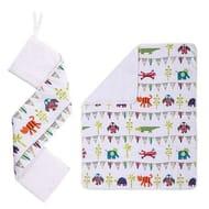 Kiddicare Cot Bed Coverlet/Bumper Set (Nursery Bedding) - SAVE £17.50