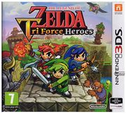 Nintendo 3DS the Legend of Zelda Tri Force Heroes £7.21 (Prime) at Amazon