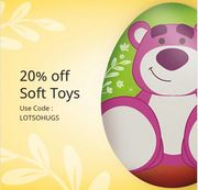 20% off Soft Toys at Disney Store