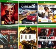 XBOX 1 Overwatch Mafia III Project Cars 2 Killer Instinct Doom & Tekken 7 Bundle