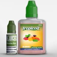 Gummy Fruits 50ml Shortfill - Free Nic Shot