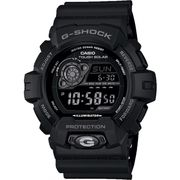 Casio Mens G-Shock World Time Black Solar Powered Watch 27%off