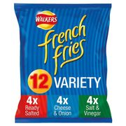 Walkers French Fries Variety Snacks 12 X 18 G - HALF PRICE