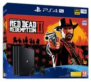 PS4 Pro 1TB Red Dead Redemption 2 Console Only £349.99