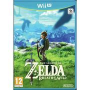 Legend of Zelda: Breath of the Wild Wii U Gameby Zelda
