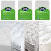 Silentnight Mattress Bed Protector Fitted Cover Hygienic Bedding NQP (Single)