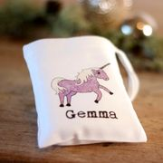 Personalised Unicorn Mini Gift Bag