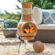 Avening Maple Clay Chimenea