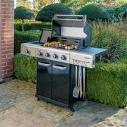 Outback Jupiter 4 Burner Gas Barbecue with Cover