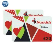 £80 of Nandos or VUE Giftcards for £69.98