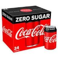 3x24 Cans (72) of Coke Zero or Diet Coke Farmfoods