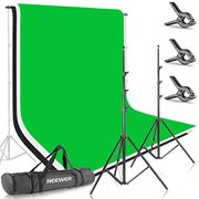 Background Stand Support System with Backdrop for Photography and Video Shooting
