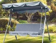 Outdoor 3-Seater Swing Bench - 3 Colours!