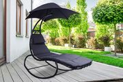 Helicopter Sun Lounger with Parasol
