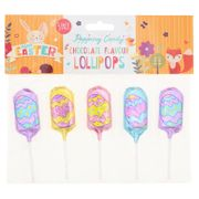 Popping Candy Chocolate Lollies 5pk