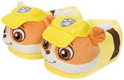 New Genuine Paw Patrol 3D Novelty Boys Girls Slippers (10.5-12, Rubble)