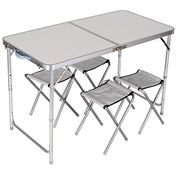 Folding Picnic Camping Table Set